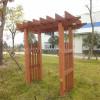 wood composite lumber pergola for garden