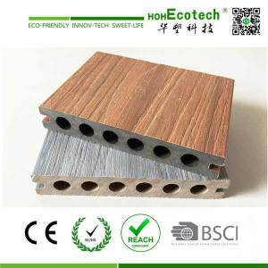 Hot! 138mm composite capped patio decking review