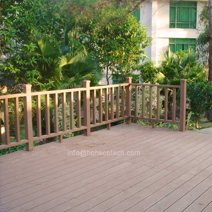 Durable wood and Plastic Composite Flooring/decking(waterproof/Wormproof/Anti-UV/Resistant to rot an