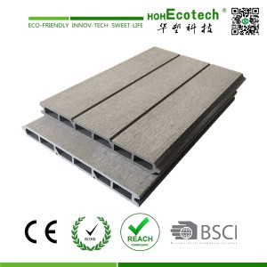 wood plastic composite deck fencing panels