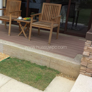 high impact resistant solid composite decking