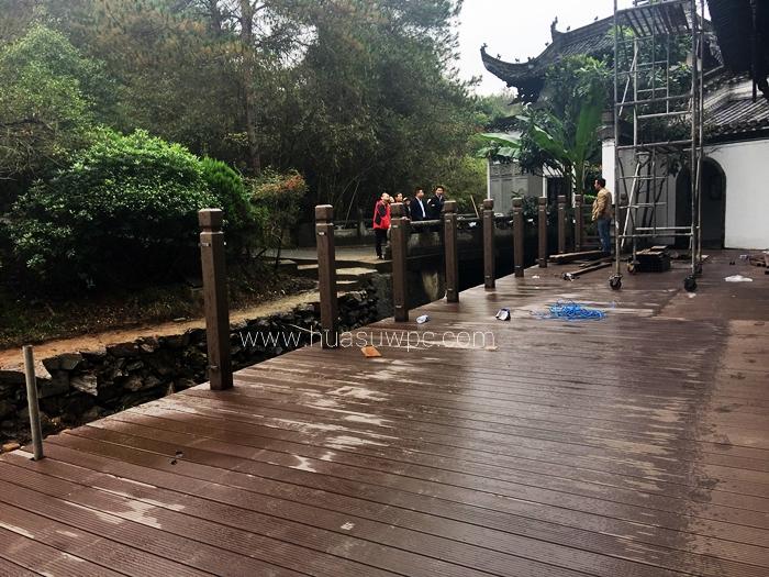 plastic lumber decking and  railing