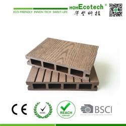 Zusammengesetzter Bodenbelag des umweltfreundlichen WPC Deckingfußboden zusammengesetzten Decking