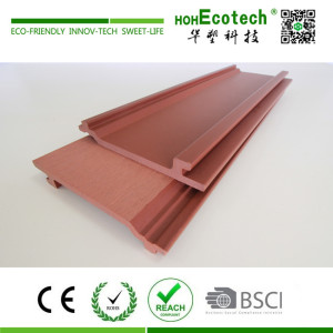 Wholesale exterior wood plastic composite wall cladding