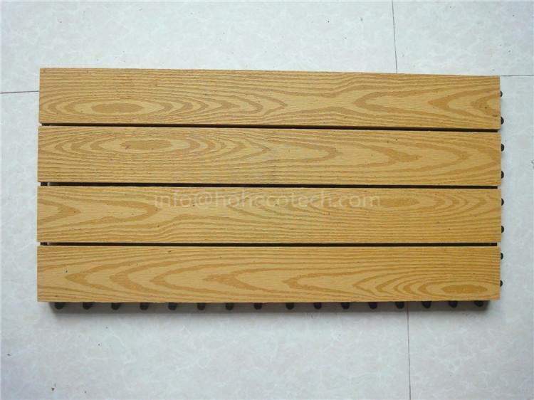 Big size outdoor wpc composite diy deck tile china deck for New tile technology