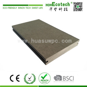 Outdoor high strength wpc composite solid decking