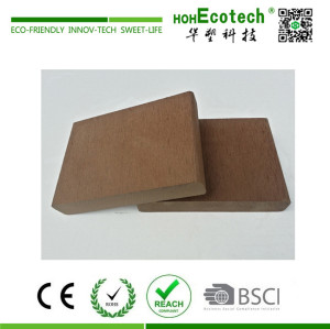 Hot sale popular size wood plastic composite decking