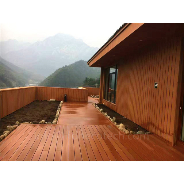 Exterior wall cladding wood plastic composite decorative boards