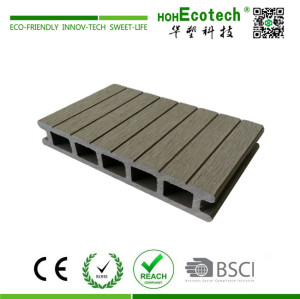 WPC wooden decking floor