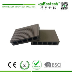 Wood plastic composite decking for terrace
