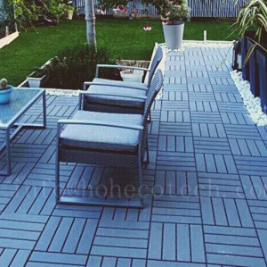 Backyard/garden decoration composite deck tile