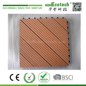 Veranda wooden composite DIY deck tile