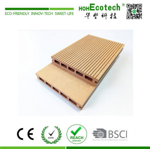 Low maintenance wpc composite decking