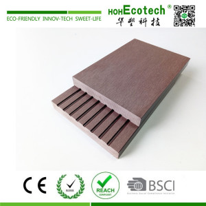 Durable non slip wpc composite deck floor