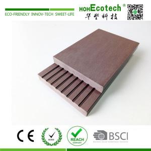Durable non slip wpc composite deck floor