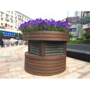 Beautiful wpc flower pots