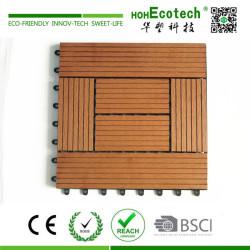 Fashion style external wpc deck tile