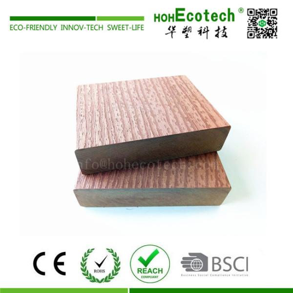 High strength wood plastic composite floating dock