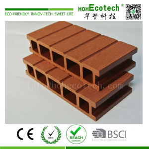 Eco-friendly outdoor composite decking material