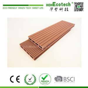 Low cost economic plastic wood composite deck boards
