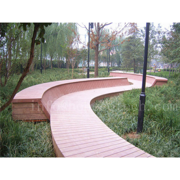 No painting natural wood looking wpc composite deck floor120S20-C