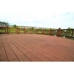 Anti-cracking wooden composite decking floor 145S25-C