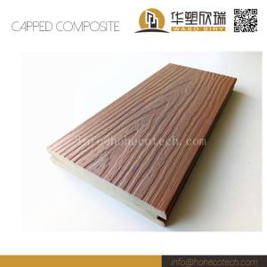 Outdoor co-extrusion wpc composite deck floor