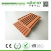 Waterproof anti cracking plastic wood composite marina deck covering