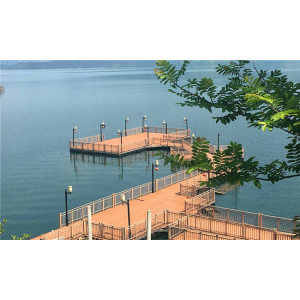 Eco-friendly easy installation landscaping wooden composite railing