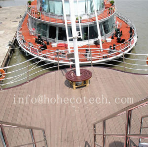 Barefoot eco-friendly low maintenance wpc deck for cruise ship