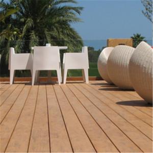External landscaping eco-friendly wood plastic composite deck floor