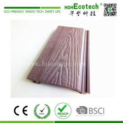 3D deep embossing wood plastic composite wall cladding