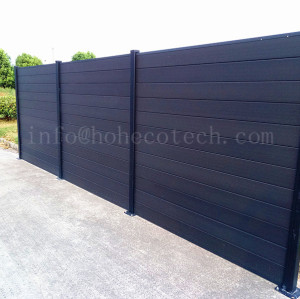 Nice design high quality coextrusion wpc composite fence panel