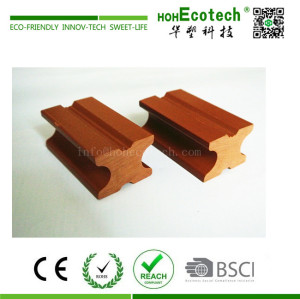 Solid cheap wood plastic composite deck joist