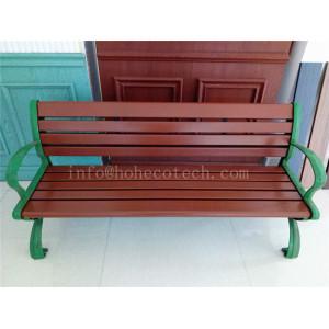 Outdoor waterproof wood plastic composite bench