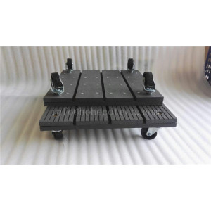 Landscaping wood plastic composite trolley
