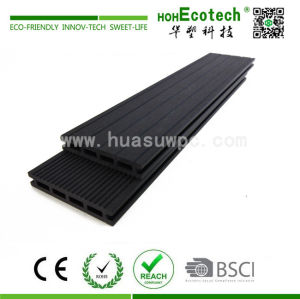 17 mm waterproof black wood plastic composite decking
