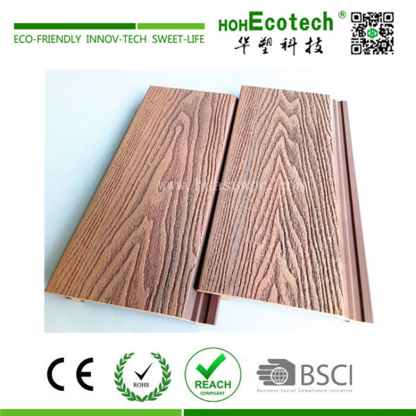 Outdoor WPC 3D  wall panel