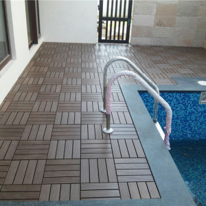 Non slip waterproof bathroom flooring