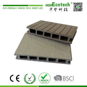 Anti rot waterproof wood plastic composite deck flooring