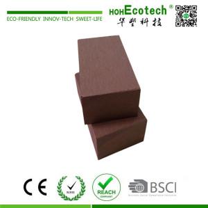 High strength outdoor wooden bench stool