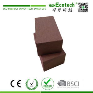 High strength outdoor wooden bench stool