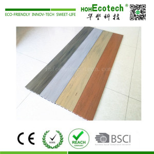 2018 new mixed color wpc decking