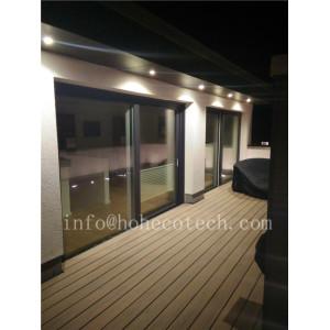 High strength easy to clean capped veranda deck floor