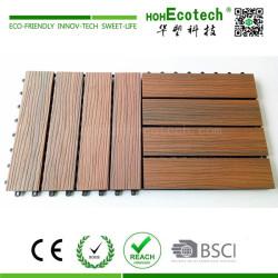Interlocking ultra easy assemble capped DIY tile floor