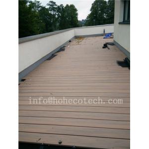 2018 New color wood plastic composite terrace deck