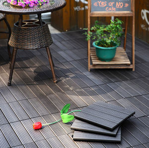 DIY balcony wooden composite deck tile