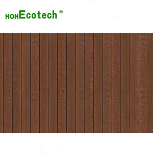 New arrival 3D wood grain composite decking deep wood grain surface non-slip wpc decking board