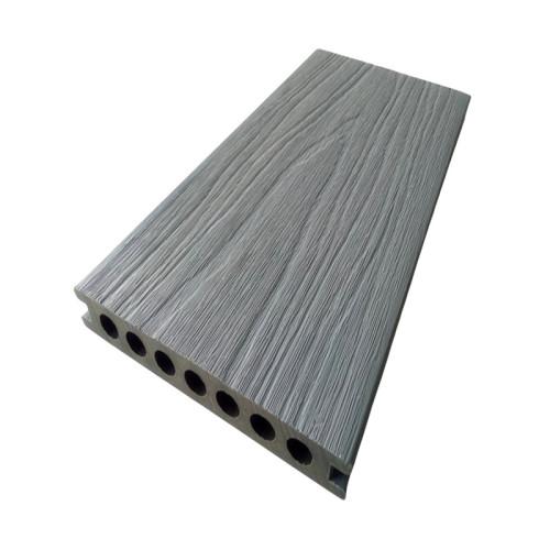 Campioni di decking composito di legno-plastica di coestrusione