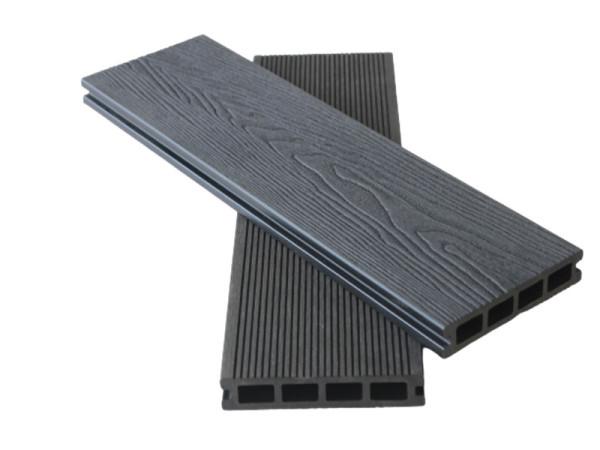3D Wooden Grain Deep Embossing Anti-rotten WPC Decking Outdoor Composite Decking